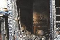 韶关一小区情人节发生火灾 疑手机充电爆炸