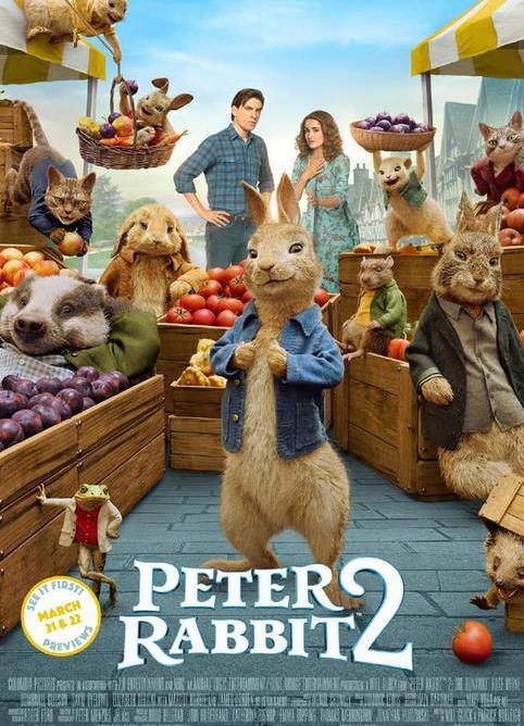 比得兔回归 电影《比得兔2》发布新海报